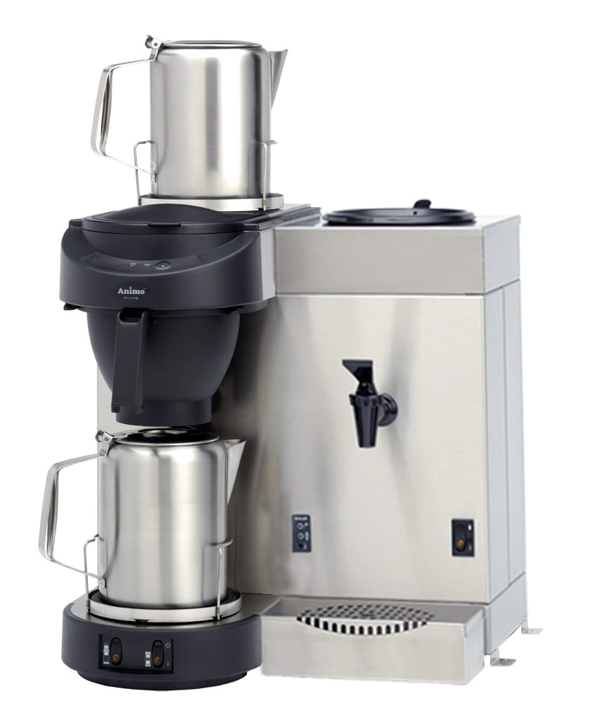 Coffee Brewer, Automatic, Hot Water Tap, 14 L/h Image