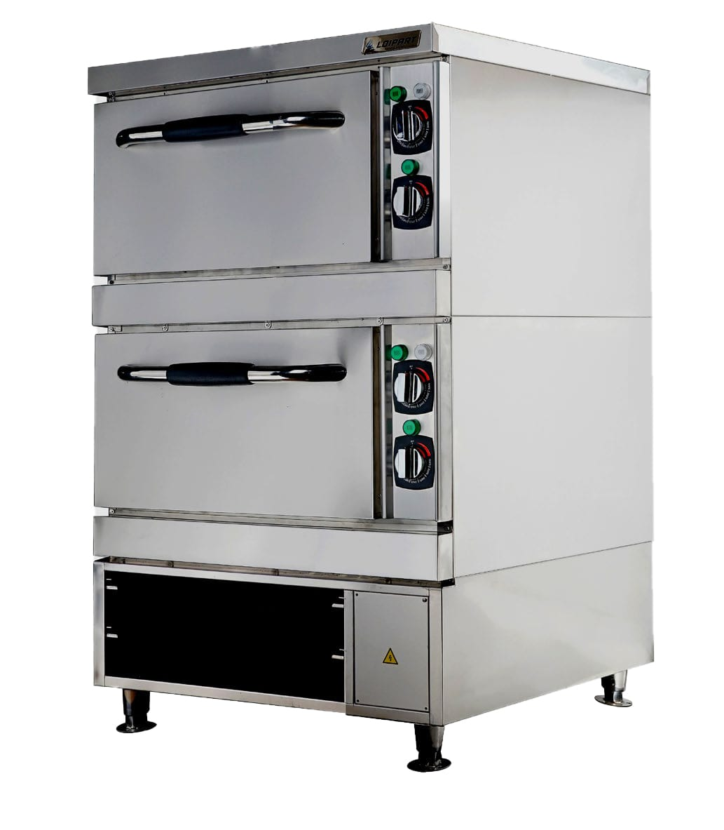 Baking and Roasting Oven, 2 Decks and Open Cabinet Image