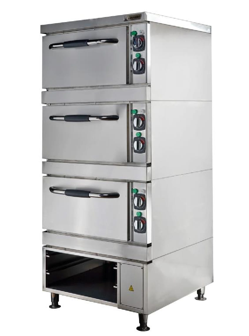 Baking and Roasting Oven, 2 Decks, Prover and Open Cabinet Image