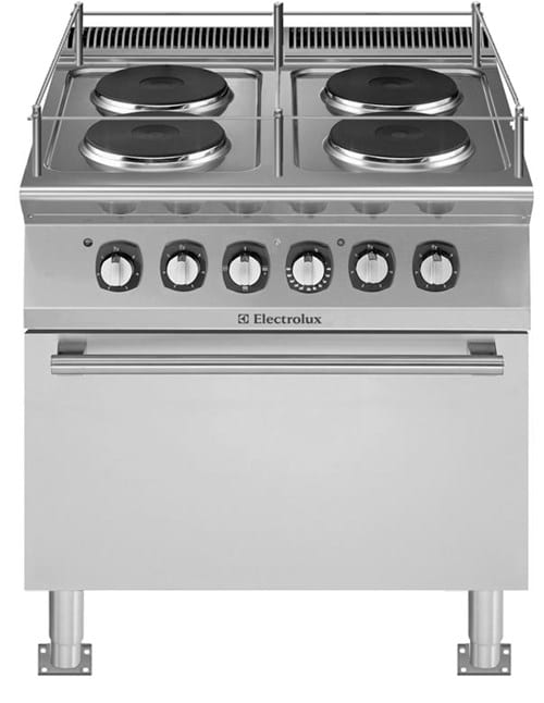 Range, 4 Hot Plates and Oven Image