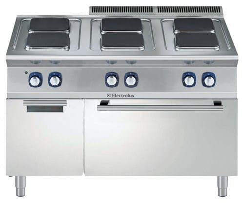 Range, 6 Hot Plates and Oven Image