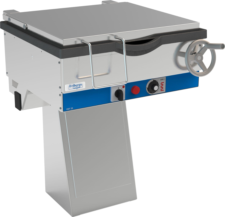 Bratt Pan (Frying Table), Height Adjustable, 140mm Deep Image