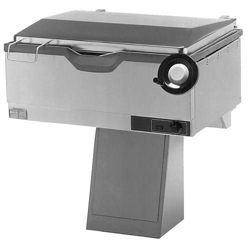 Bratt Pan (Frying Table), Tiltable Image
