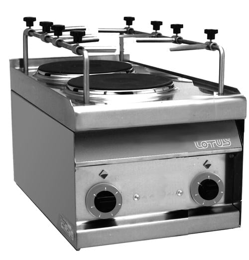 Cooking Top, 2 Hot Plates Image