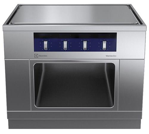 Cooking Top, 4 Zones and Open Cupboard Image