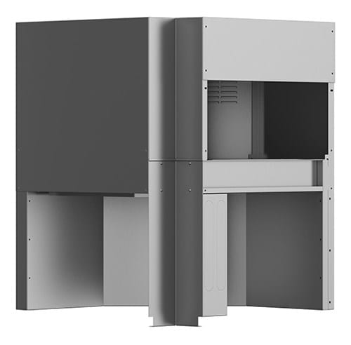 Corner dryer, Dual Rinse, Reversible Image