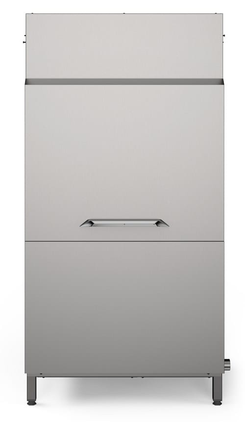 Large Dryer with Door Dual Rinse, Reversible Image